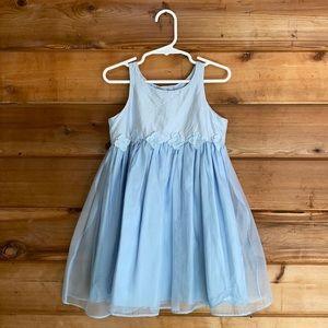 {Vintage} Baby Gap Silk Dress (3XL)